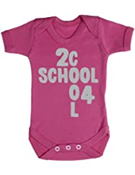 Baby Buddha - 2 Cool 4 School Baby Bodys / Strampler 100% Baumwolle
