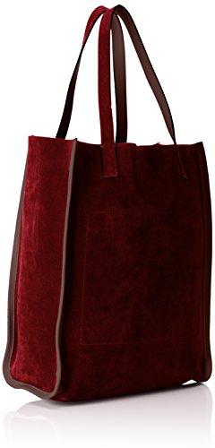 Gattabuia Giulia, sac bandoulière Rosso (Cacao/Ribes)
