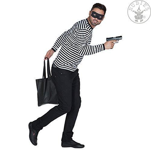 Junggesellenabschied Panzerknacker Bankraüber Ganove Verbrecher Einbrecher Shirt + Augenmaske ()