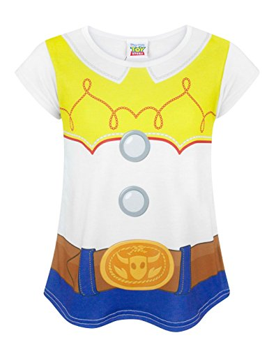 Disney Toy Story Jessie Costume Girl's T-Shirt (3-4 years) (Woody Kostüm Mädchen)