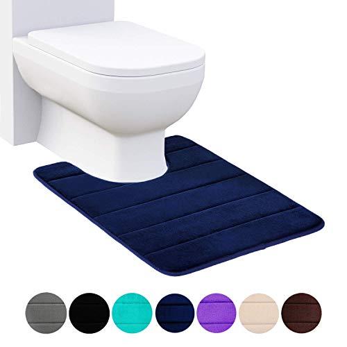 Tapis de bain Set 2 Pièce Antidérapante en Caoutchouc Tapis socle WC salle de bain Tapis NOUVEAU UK