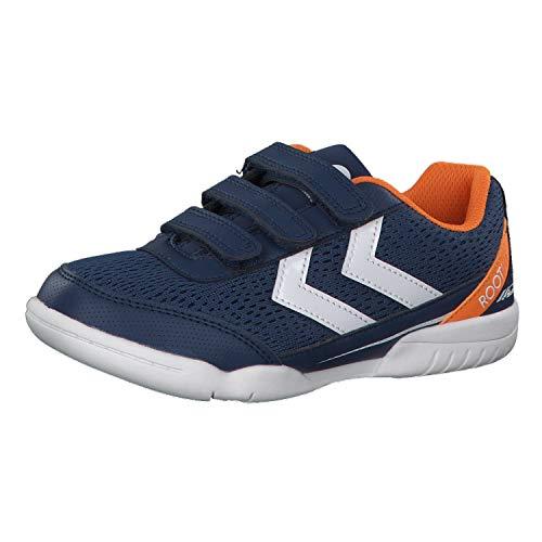 Hummel Unisex-Kinder Root JR VC 2.0 Multisport Indoor Schuhe, Blau (Poseidon 8616), 36 EU