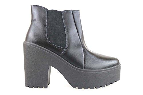 scarpe donna MADAME PIGALLE 39 EU stivaletti nero pelle AM782