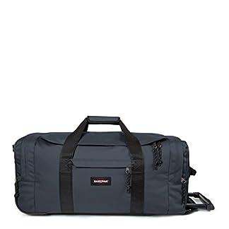 Eastpak Leatherface M Bolsa de Viaje, 32 cm, 61 Litro, Color Quiet Grey (Gris)