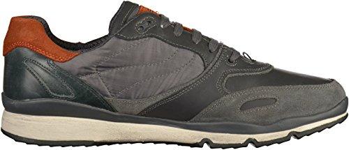 Geox Herren U Sandford B ABX A Sneaker Anthracite
