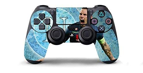 NAPOLI HAMSIK ULTRAS Skin Cover Joystik PS4 HD CONTROLLER WIRELESS DUALSHOCK 4 PLAYSTATION 4 limited edition DECAL ADESIVA