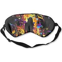Music Note Girl Dance Sleep Eyes Masks - Comfortable Sleeping Mask Eye Cover For Travelling Night Noon Nap Mediation... preisvergleich bei billige-tabletten.eu