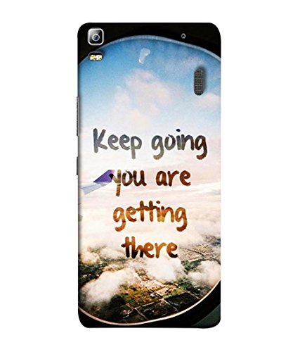 PrintVisa Designer Back Case Cover for Lenovo K3 Note :: Lenovo A7000 Turbo (Air Clouds)  available at amazon for Rs.345