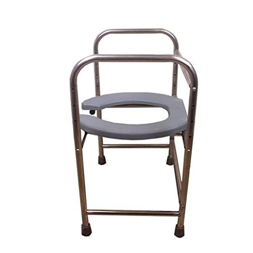 Siège de siège réglable en acier inoxydable de siège de toilette