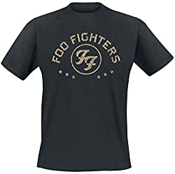 Foo Fighters Arched Star T-Shirt schwarz L
