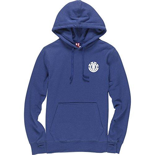Element S Hood Hoodie Blau