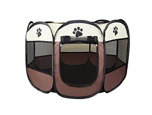 Cosy Life Welpen-Laufstall/Hundehütte Hunde-Box/Tier-Laufstall für Kleintiere (Meerschweinchen, Kanninchen, Hasen, Katzen)/81 x 81 x 56 cm (Welpen Tier)