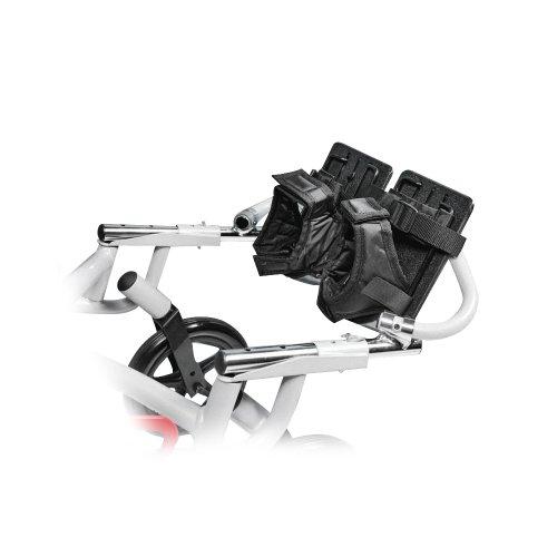 Wenzelite Fuß- und Knöchel Sicherheitskissen für wenzelite Traber Convaid Stil Mobilitäts Rehab Kinderwagen, Schwarz (Knöchel Mobilität)