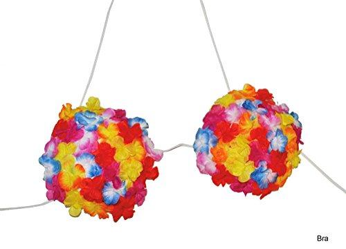 Preisvergleich Produktbild Hawaii Flower BH - Zauberhaft zum Südsee Party Kostüm
