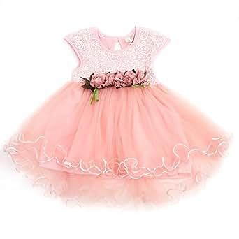 f893b163 ... PoshTots (Clearance Sale) Multi-Style Super Cute Baby Girls Floral Dress  Princess