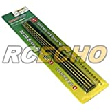 RCECHO® TRUMPETER Model Craft Master Tools 20cm Brass Pipe Set 4 (4pcs) 09945 P9945 with RCECHO® Full Version Apps Edition
