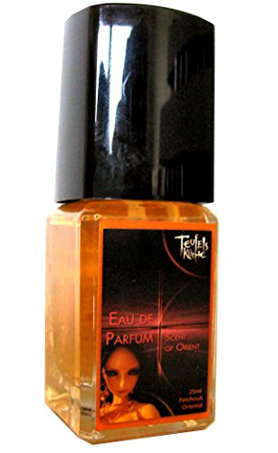 """Teufelsküche Patchouli """"Scent of Orient"""", Eau de Parfum Herren Duft, Gothic Parfum, Vaporisateur/Spray, 25 ml Glasflakon, Gotik Patchouly"""