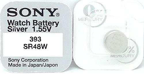 1 Pile SONY 393 SR48W 309 - 0% Mercure