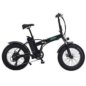 41KKGd%2B05FL. SS300 GUNAI Bici Grassa Elettrica 48V15AH 500W Motore 20 Police Ebike Bici 7 velocità Mountain Bike Pieghevole a Doppia…