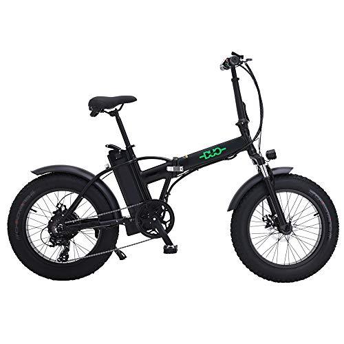 HUAEAST Bicicleta Eléctrica 500W 20 Pulgadas 48V