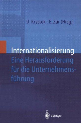 Internationalisierung: Eine Herausforderung für die Unternehmensführung