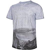 TRANGO PC007963 Camiseta, Hombre, Azul, M