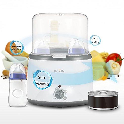 Chauffe-biberon intelligent multifonction Chauffage Chauffage Stérilisateur de lait Termostat Désinfection Alimentation Egg Chauffage à la vapeur