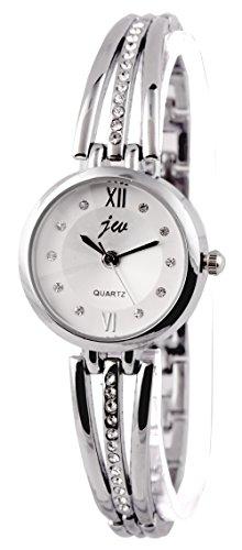 AELO Silver Dial Women\'s Watch