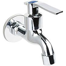 Retro Einhand Wandwasserhahn Waschtischarmatur Bad Kaltwasser Armatur Ventil