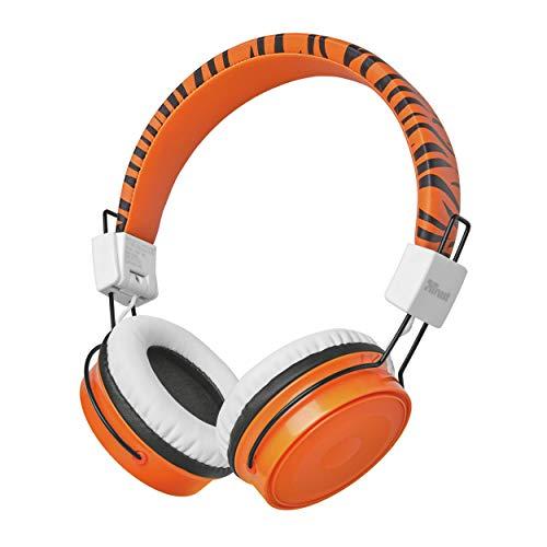 Trust Comi Cuffie Wireless Bluetooth per Bambini - Arancio
