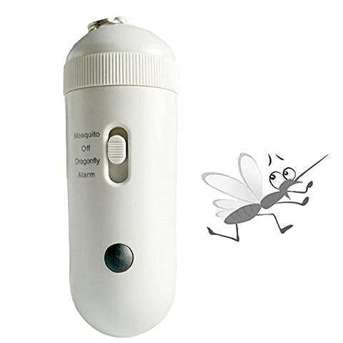 L&R Répondeur électronique à insectes anti-insectes intelligents Non toxique Suspension anti-moustique anti-moustique