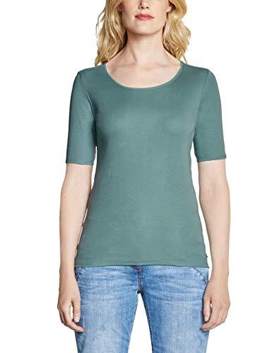 CECIL Damen 311780 Lena T-Shirt, (Sage Green 11893), XX-Large (Herstellergröße:XXL)
