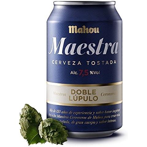 Mahou Maestra Cerveza Doble Lúpulo - 33 cl