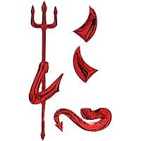 Metal Devil PIXNOR-Adesivo 3D per Auto, Emblema