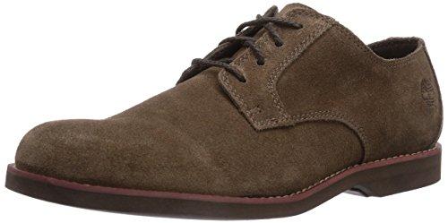 TimberlandEK Stormbuck Lite V FTM_Plain Toe Oxford - Scarpe Oxford Uomo, Marrone (Brown), 45
