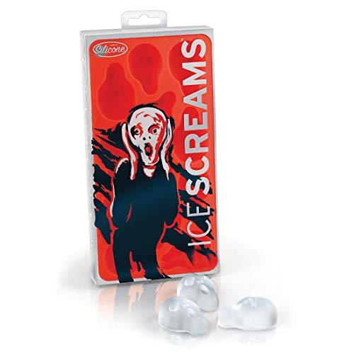 Preis am Stiel 4 x Eiswürfelform Silikon ''Ice Screams''   Halloween   Party