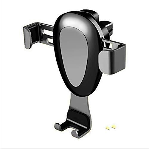 XFZK Autotelefonhalter , Schwerkraft Auto-Lock Metallclip Belüftungsöffnungen GPS (größe : Grau)