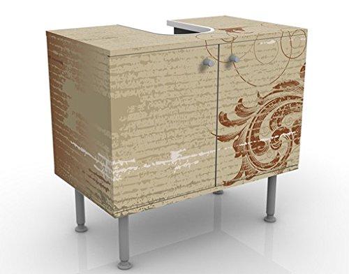 Apalis 53652 Waschbeckenunterschrank Laubranken, 60 x 55 x 35 cm