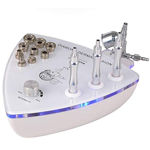 SZJS 2 en 1 Profesional Diamante Microdermoabrasión Dermoabrasión Máquina Facial Cuidado Piel Equipo Agua Rociar Exfoliación Belleza Máquina por Eliminación Arruga para Casa