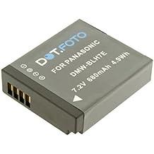 Dot.Foto remplacement Panasonic DMW-BLH7E batterie - 7,2v / 680mAh - garantie de 2 ans - Panasonic Lumix DMC-GM1, DMC-GM5, DMC-GF7, DMC-GF8, DMC-LX10, DMC-LX15, DC-GX800, DC-GX850, DC-GF9