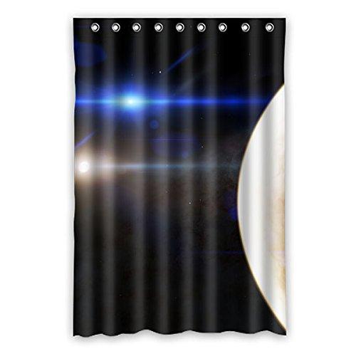 """120 cm x 183 cm (48 """"x 72"""") tenda della doccia bagno, universale personalizzato Misterioso pianeta lo spazio di sfondo personalizzata moda muffa tenda della doccia"""