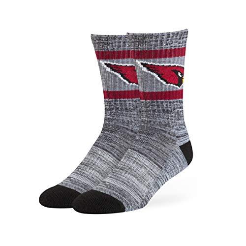 Arizona Socke (NFL Arizona Cardinals OTS Rigby Sport-Socken, Schwarz, Größe L)