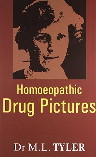 Homeopathic Drug Pictures by Dr. Margaret Lucy Tyler (2004) Hardcover