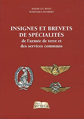 L Armee De Terre - Insignes et brevets de spécialité de l'armée