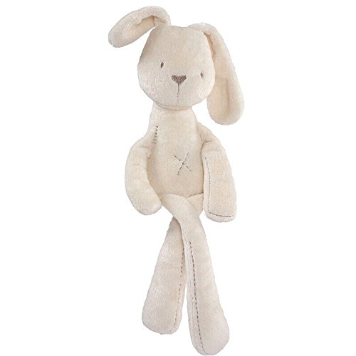 Bozevon carina placare coniglio bambole morbide di peluche farcite giocattoli regali per neonati , coniglio