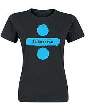 Sheeran, Ed Divide Logo Camiseta Mujer Negro M