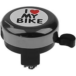Bell De Bicicleta Bici Anillo De Campana Cuerno De Sonido Para Niños Mujeres Muchachas - Negro, for 15inch Macbook