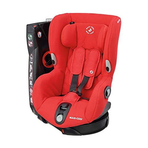 Maxi-Cosi Axiss drehbarer Kindersitz, Gruppe 1 Autositz (9-18 kg), nutzbar ab 9 Monate bis 4 Jahre, nomad red