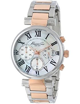 Kenneth Cole New York Women's KC4970 Stainless Steel and Rose Gold Bracelet Watch