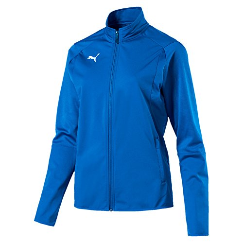 Puma Erwachsene Liga Training Jacket W Jacke, Electric Blue Lemonade White, - Damen Puma